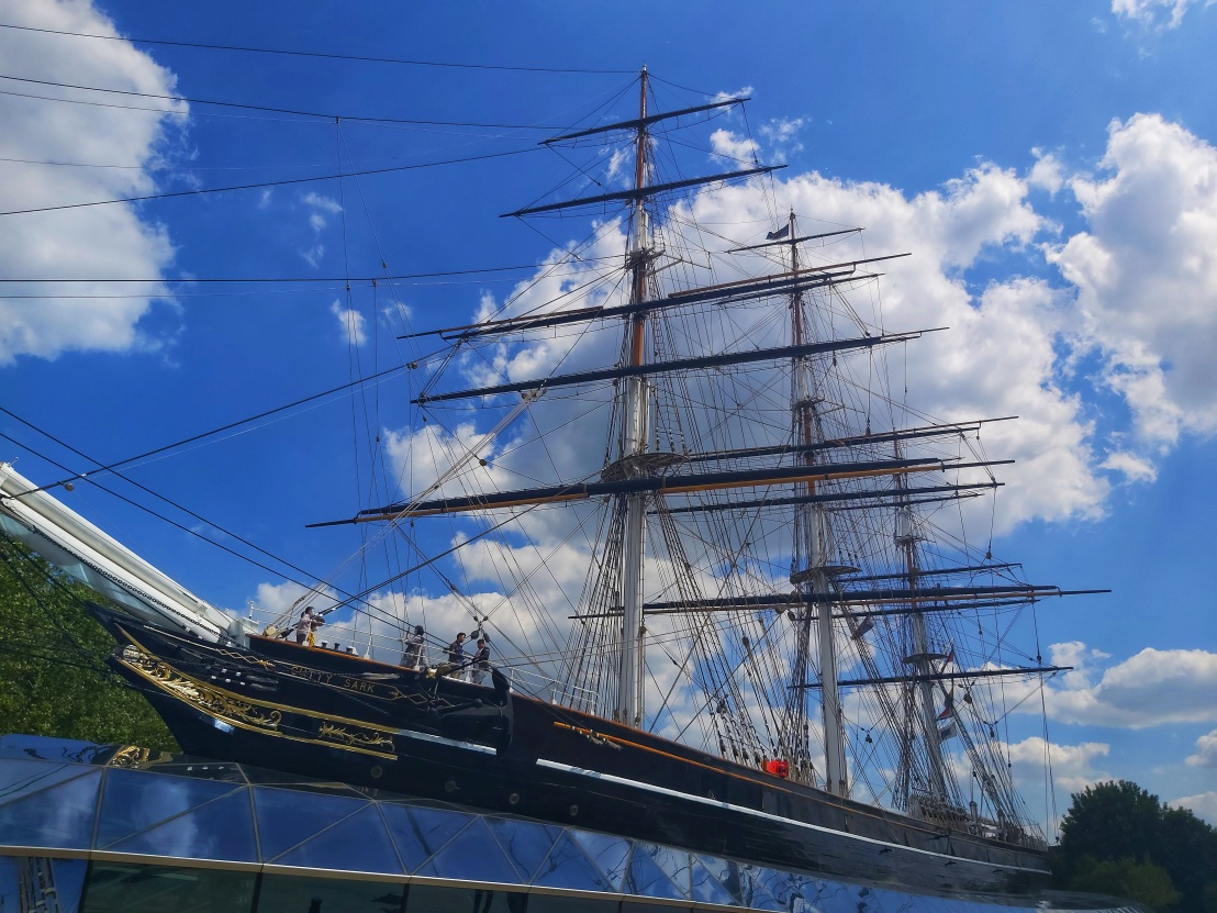 Cutty Sark Ship in Greenwich