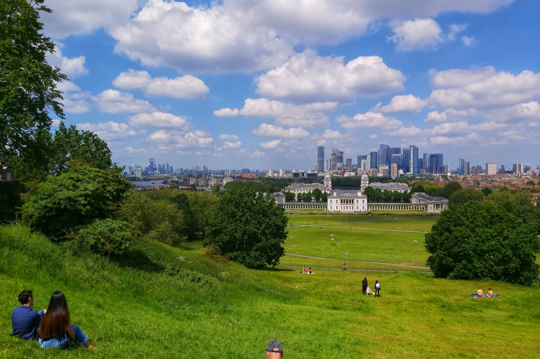 London Parks –Greenwich
