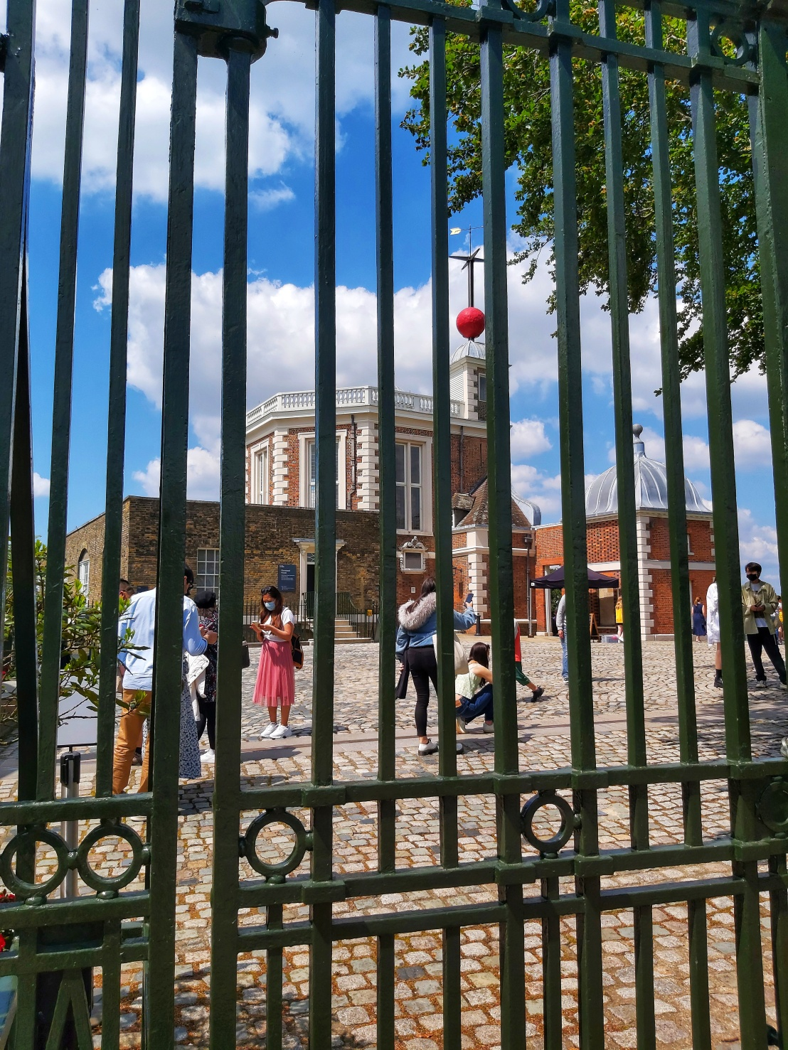 Greenwich Royal Observatory Meridian Line