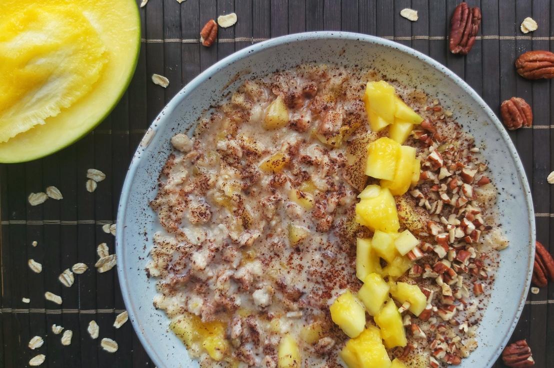 Mango And Pecan NutPorridge