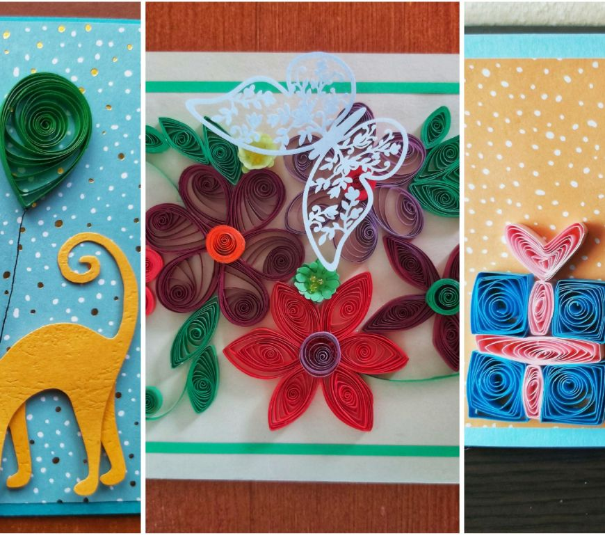 Handmade Quilling Cards 2021 Thumbnail