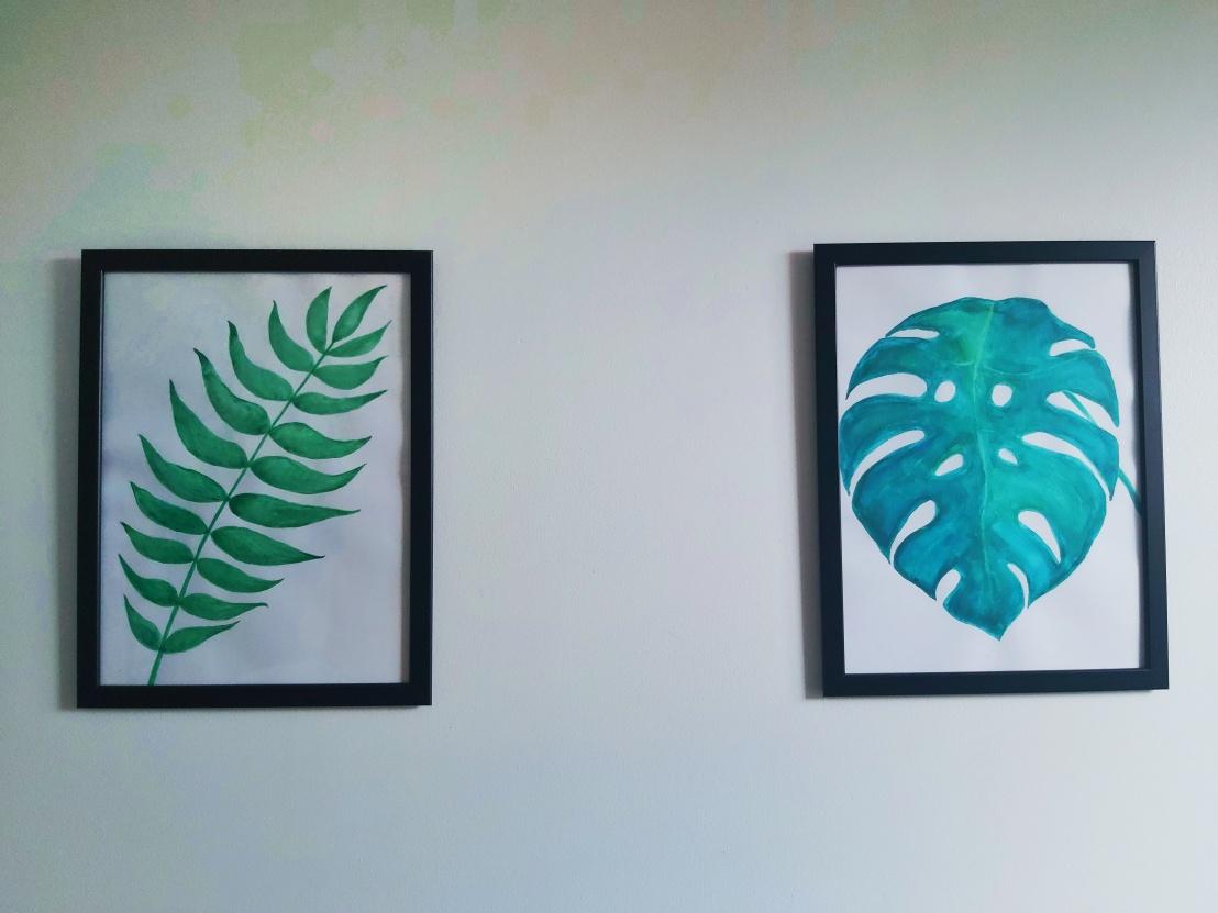 DIY Botanical Watercolour Paintings