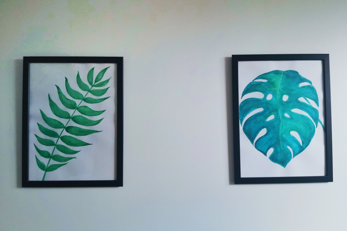 DIY Botanical WatercolourPaintings